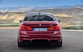 Обои BMW, корма, 2017, M5, F90, M5 First Edition