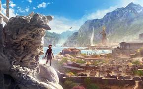 Картинка Ubisoft, Assassin's Creed, Ubisoft Quebec, Odyssey, Одиссея, Assassin's Creed Odyssey
