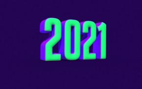 Картинка green, new year, render, 2021