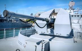 Картинка установка, фрегат, артиллерийская, адмирал макаров, а-190