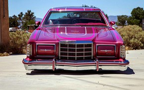 Картинка Ford, Lowrider, Custom, Thunderbird, Vehicle, Ford Thunderbird