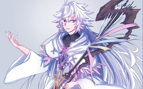 Картинка маг, Мерлин, Fate / Grand Order, Судьба великая кампания