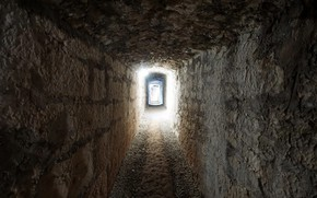 Картинка свет, тоннель, подвал