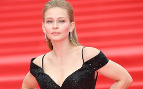 Картинка взгляд, поза, макияж, актриса, Юлия Пересильд, Yulia Peresild