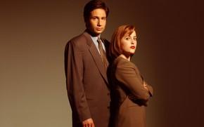 Картинка сериал, The X-Files, Секретные материалы, Дана, Малдер