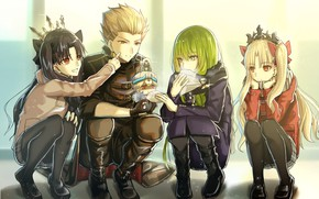 Картинка арт, персонажи, Fate / Grand Order, Судьба великая кампания