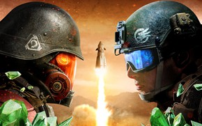 Обои 2018, Command & Conquer: Rivals, Electronic Arts, Command & Conquer, game