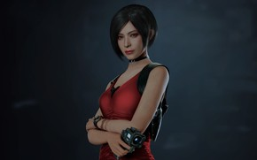 Картинка взгляд, девушка, Resident Evil 2, 2019