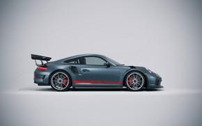 Картинка Авто, Porsche, Машина, Фон, GT3, Спорткар, Automotive, Вид сбоку, Transport & Vehicles, Ryan Giffary, by …