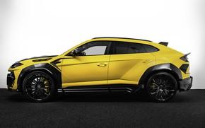Картинка тюнинг, Lamborghini, вид сбоку, tuning, кроссовер, Urus, 2020, Keyvany, Keyrus