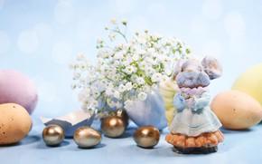 Картинка праздник, весна, пасха, композиция