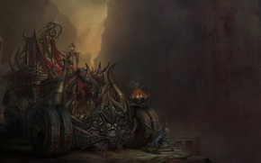 Картинка Монстры, Монстр, Машина, Fantasy, Демоны, Monster, Art, Фантастика, Machine, Транспорт, Monsters, Demons, Gargoyle, Гаргулья, Transport, …