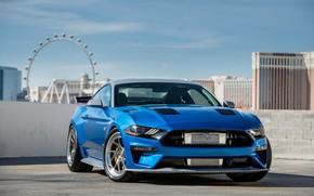 Обои Ford, 2018, Mustang GT, Bojix Design, SEMA 2018