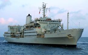 Картинка корабль, флот, обеспечения, вспомогательный, Fort Rosalie
