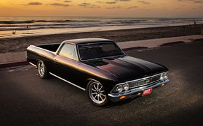 Картинка Chevy, Chevelle, El Camino, Pick up, Vehicle, Modified