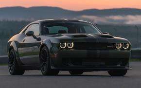 Картинка Dodge, Challenger, Dodge Challenger, Hellcat, SRT, Redeye Widebody, Dodge Challenger SRT Hellcat Redeye Widebody