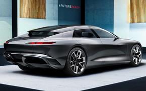 Картинка Ауди, концепт, роскошь, design, комфорт, luxury, exterior, 2021, Audi Grandsphere concept, electric sedan, future technologies