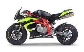 Картинка Concept, мотоцикл, байк, Daytona, 190, 2019, GP-0, Ohvale