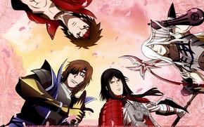 Картинка парни, персонажи, Sengoku Basara, Эпоха Смут