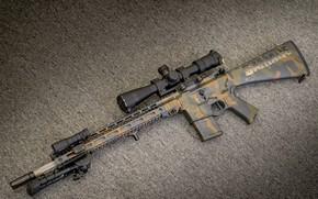 Обои оружие, винтовка, weapon, custom, ar-15, assault rifle, assault Rifle, ар-15