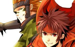 Картинка аниме, парни, двое, Sengoku Basara, Эпоха Смут