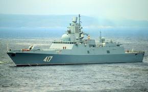 Картинка фрегат, вмф, адмирал горшков