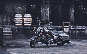 Картинка Custom, Indian, Motorcycle, Indian Springfield Dark Horse, The Jack Daniel's Limited Edition