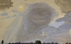 Картинка 1920, Summer Sun, Charles Ephraim Burchfield