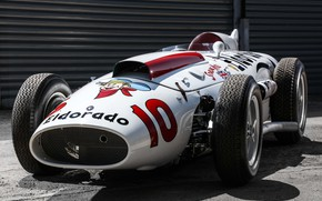 "Картинка Maserati, Classic car, 1958, Sports car, Indianapolis 500, Indianapolis 500-Mile Race, Maserati 420/M/58 ""Eldorado"""