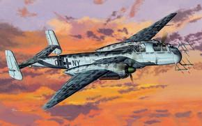 Картинка Luftwaffe, Ночной истребитель, He 219A-5/R4, Heinkel He 219