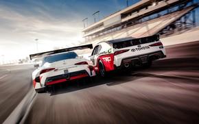 Обои Toyota, Supra, 2018, GR Supra Racing Concept, Xfinity