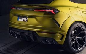 Картинка Lamborghini, фара, задняя часть, кроссовер, Urus, Novitec, 2019