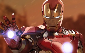 Картинка фон, арт, костюм, шлем, Железный человек, Iron Man, комикс, MARVEL, Tony Stark
