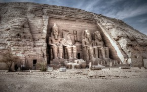Картинка Abu Simbel, Nubia, Egipto, Asuan
