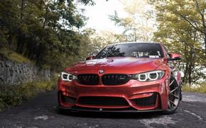 Картинка BMW, Angel, RED, F80, Sight, LED