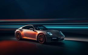 Картинка 911, Porsche, Carrera 4S, 2019