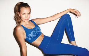 Картинка взгляд, поза, модель, фигура, figure, model, look, pose, Victoria's Secret, Josephine Skriver, Жозефин Скрайвер