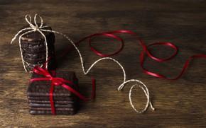 Картинка шоколад, печенье, десерт