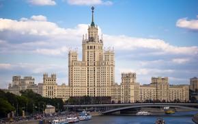 Картинка Москва, Россия, высотка, Alla Poliakova, Котельническая набережная