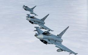 Картинка Luftwaffe, многоцелевой истребитель, Typhoon, Eurofighter