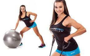 Картинка sexy, model, pose, workout, fitness