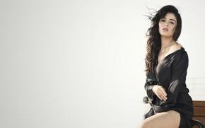 Картинка Sidhika Sharma, makeup, face, girl, hot, eyes, brunette, actress, smile, pretty, hair, beautiful, figure, sexy, …