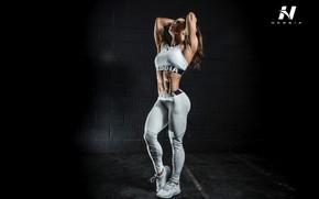 Картинка pose, fitness, abs