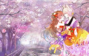 Картинка арт, Бог, приятно, Kamisama Hajimemashita, Tomoe, Очень приятно Бог, Очень, Томое, Нанами