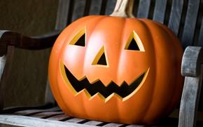 Картинка праздник, Halloween, тыква