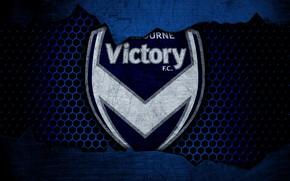 Картинка wallpaper, sport, logo, football, Melbourne Victory