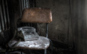 Картинка фон, стул, телефон