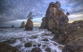 Картинка пейзаж, природа, побережье, красота, nature