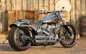 Картинка Harley-Davidson, Custom, Motorbike, Breakout, H-D, CVO, Thunderbike, FXSBSE
