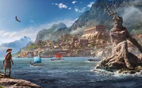 Обои Ubisoft, Odyssey, E3 2018, Assassin's Creed Odyssey, Assassin's Creed